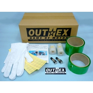 OUTEX Tubeless kit wissen