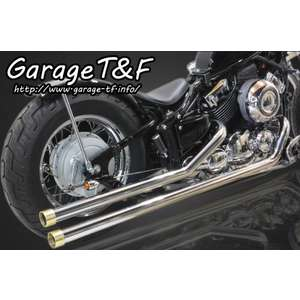 GARAGE T&F [Closeout Item] Long Drag Pipe Exhaust [Special Price Item]