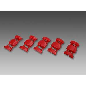MINIMOTO [Outlet Sale Corresponding Product] Wiring Tap Connector Red (5pcs.) [Special Price Items]