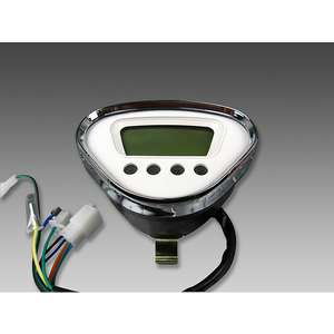 MINIMOTO LED Digital InvertedTriangle Meter Mechanische Art