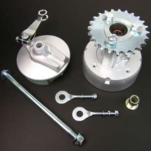 MINIMOTO MONKEY Rear Hub & Brake Set