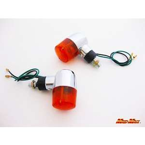 MADMAX Round Type Mini Blinker 2 Pieces Set