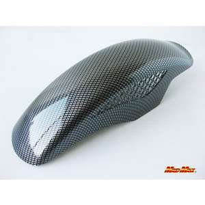 MADMAX Universal Front Fender Mesh Twill Weave Carbon