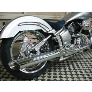 KENTEC Low Rider 2IN1 Exhaust System Φ90
