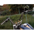 MOTOR ROCK [BOAT RAP] Exclusive 70s Up Handlebar for W650