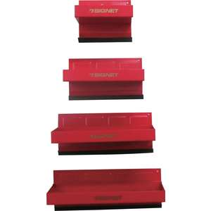 SIGNET Magnet Parts Tray Set (Rood)