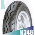 KENDA K348B [80/90-10 35J 2PR TL] Tire