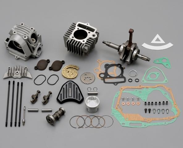 【DAYTONA】DYNA 汽缸頭 DRAG Ver.2 缸徑&加大行程套件 (124.8cc) - 「Webike-摩托百貨」