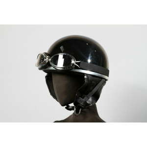NBS JAPAN Half Cap (with Goggles) Helmet KC-012E