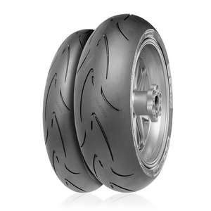 Continental ContiRaceAttack Comp. [120/70ZR17(58W)] Tire