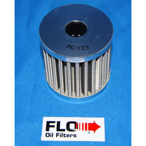 PC RACING FLO Oil Filter (Element Replacement Type)