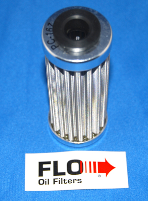 PC RACING : FLO Oil Filter (Element Replace Type