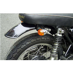 OSCAR Rear Fender Short B Black Gel