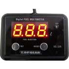 PROTEC DG-329 12V Fi Precision Fuel Gauge Digital Fuel Multimeter for Tank Capacity Below 9.99L