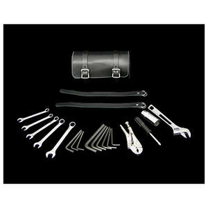 Neofactory Leather Tool Roll & Tool Set Black for 13/16 Inches ・21mm Plug