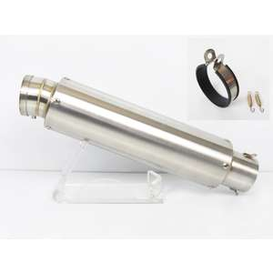 U-CP Universal Stainless Steel Racing Silencer