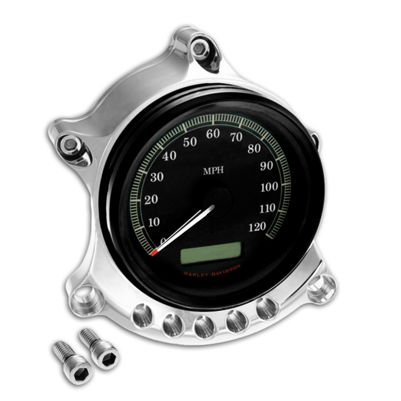 RSD Roland Sands Speedometer Speedo Gauge Headlight Relocator Harley Sportster