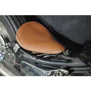 Parts Shop K&W Dedicated Solo Seat Kit Rigid Type (Plain)