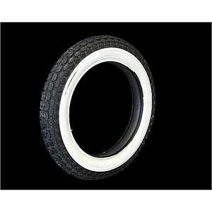 Parts Shop K&W BECK 3/4 White Wall Tire [4.00-18]