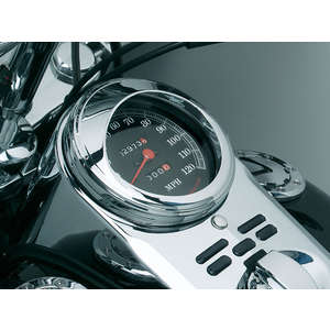kuryakyn Speedometer Trim Ring with Visor