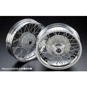 PMC(Performance Motorcycle Creative) 17-tommers Wire Wheel
