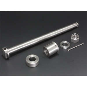 PMC(Performance Motorcycle Creative) [Items Eligible For Outletsale] Z/KZ Stainless Steel Axle Shaft Set [Specials]