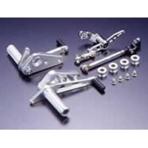 PMC(Performance Motorcycle Creative) Billet Rear Sets Type-3 Brake Pedal Pivot/Drum Brake Correspondence
