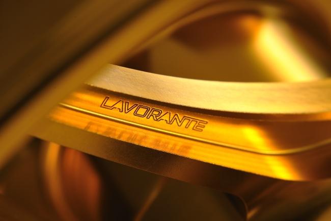 【BULL DOCK】LAVORANTE 鋁合金輪框 金色陽極處理 - 「Webike-摩托百貨」