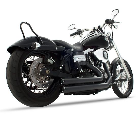 【Rinehart】2in2 全段排氣管 (黑色/黑色尾蓋) - 「Webike-摩托百貨」