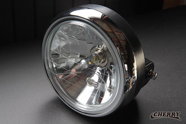 Multi Reflector Headlight Assembly with Glass Lens