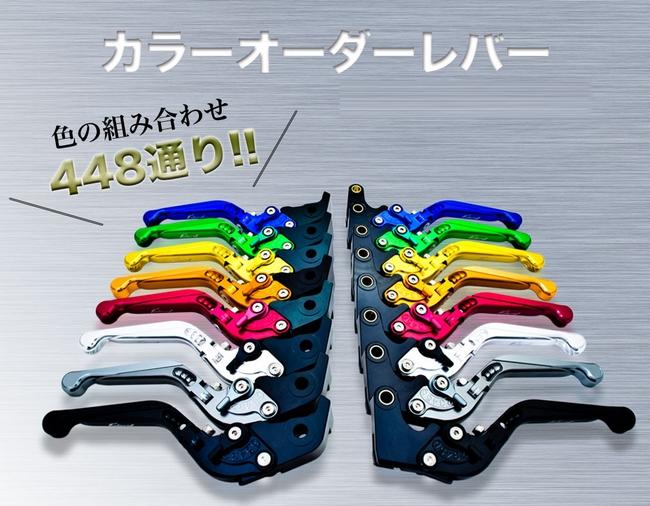 【Carbony】可倒式 切削加工拉桿 煞車&離合器組 - 「Webike-摩托百貨」