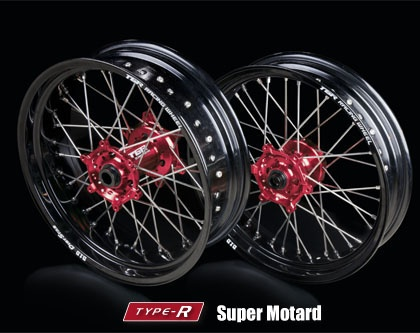 TGR RACING WHEEL Roda Para TYPE-R Super Motard