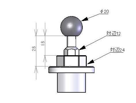 【荒木fmachine】導航機支架 (φ20) - 「Webike-摩托百貨」