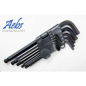 ai-net [AEBS] Hexagon Wrench Set (Inch)