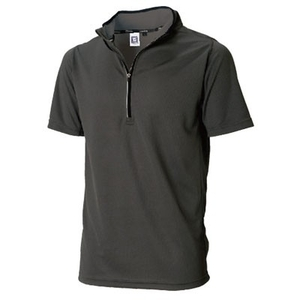 TSDESIGN Short Sleeve Half Zip [84655]
