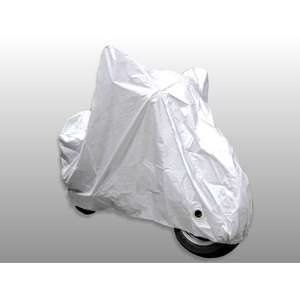 Osaka Fiber Taffeta Motorcycle Cover with Keyhole (Insoluble Cover Pad Equipped)