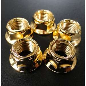 BRC Rear Sprocket Mounting Gold-Plated Nut