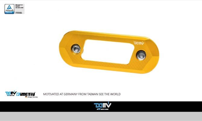 Dimotiv Pulley Cover Logo Holder