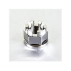 螺帽 M18x1.5 鈦合金 Pro-Bolt 27mm 城堡螺帽【歐洲進口商品】