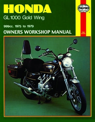 haynes service manual english revision version m309 rh japan webike net 1987 Honda Goldwing 1992 Honda Goldwing