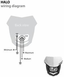 polisport : halo headlight [8657400001]  webike japan