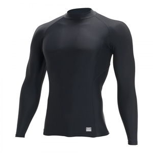 TSDESIGN High Neck Long Sleeve Shirt