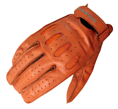 KOMINE GK-161 Vintage Short Leather Gloves