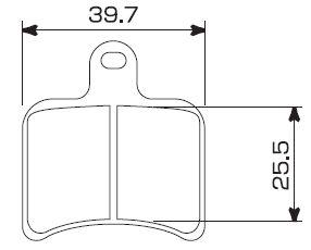 AP Racing : Brake Pads [Type-D] [CP4226D27-RX]