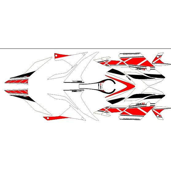 Yamaha Rd  Decal Kit