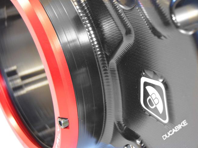 "clutch cover NEW Ducati Kupplungsdeckel Kupplung Deckel /""Plexy/"" rot NEU"