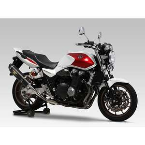 YOSHIMURA Slip-on Silencer R-77S Cyclone LEPTOS