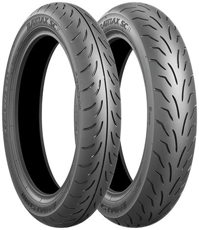 BRIDGESTONE BATTLAX SC [120 / 70 - 12 51 L TL] BAS Trucks Tire