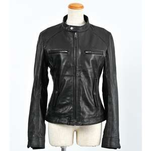 ROSSO [Closeout Item] Single Riders Leather Jacket [Special Price Item]