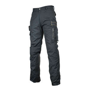 ROUGH&ROAD Pantalones ZIP de Water Shield Biker